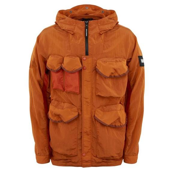 Weekend Offender Mens Orange Cotoca Jacket
