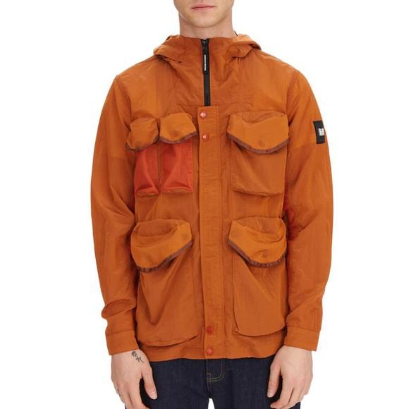 Weekend Offender Mens Orange Cotoca Jacket main image
