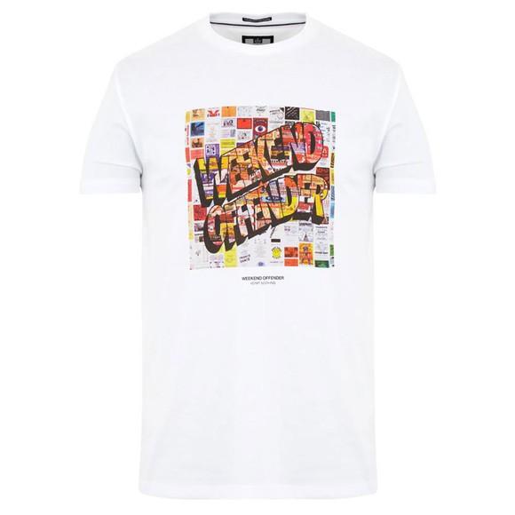 Weekend Offender Mens White Thrills T Shirt