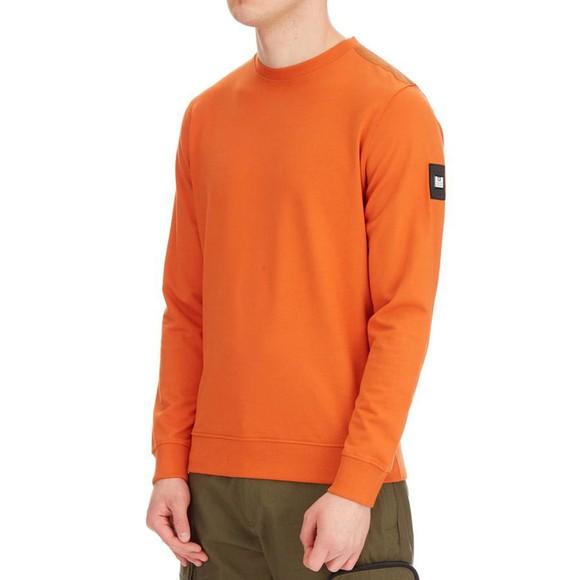 Weekend Offender Mens Orange F Bomb Sweatshirt