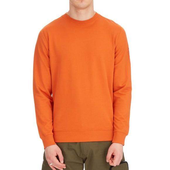 Weekend Offender Mens Orange F Bomb Sweatshirt main image