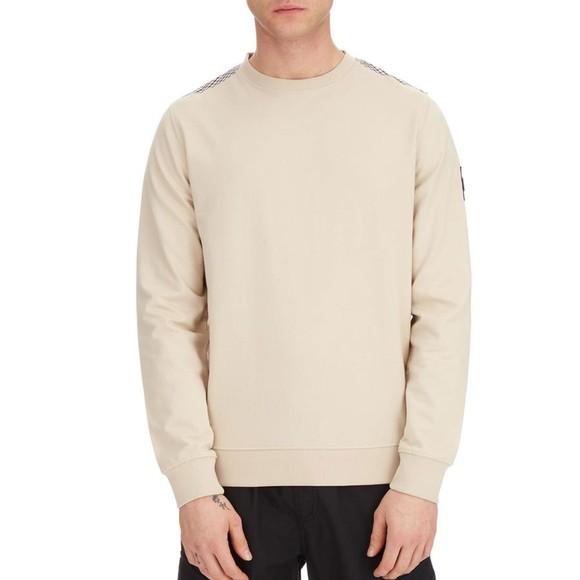 Weekend Offender Mens Beige Miho Sweatshirt main image