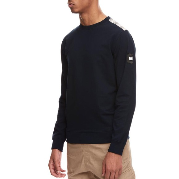 Weekend Offender Mens Blue Miho Sweatshirt