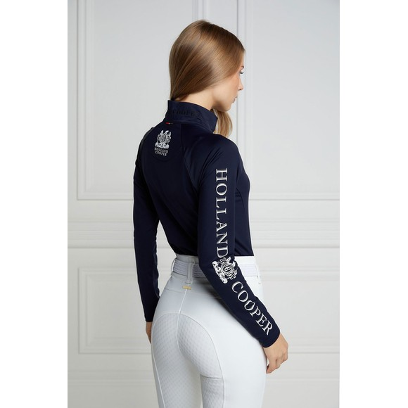 Holland Cooper Womens Blue Equi Base Layer main image