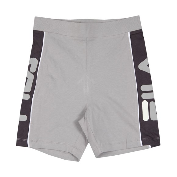 Fila Womens Silver Trina Mini Shorts