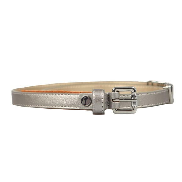 Valentino Bags Womens Silver Emma Winter Belt