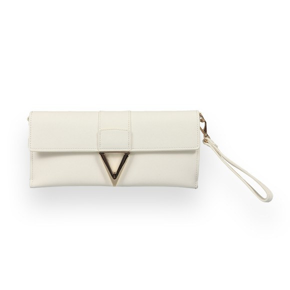 Valentino Bags Womens White Penelope Clutch Bag
