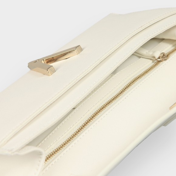 Valentino Bags Womens White Penelope Clutch Bag main image