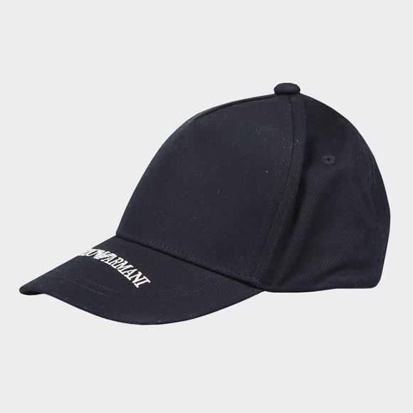 Emporio Armani Boys Blue Logo Cap