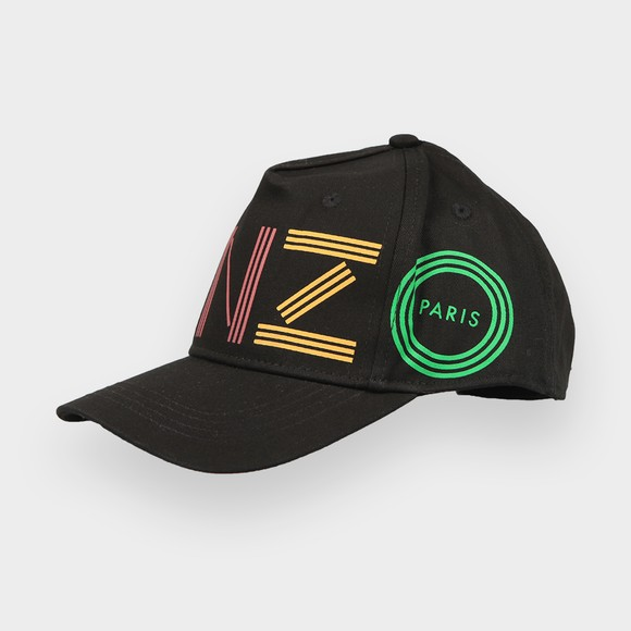 Kenzo Kids Boys Black Logo Cap main image