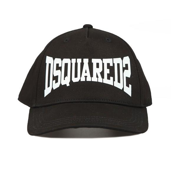 Dsquared2 Boys Black Script Logo Cap