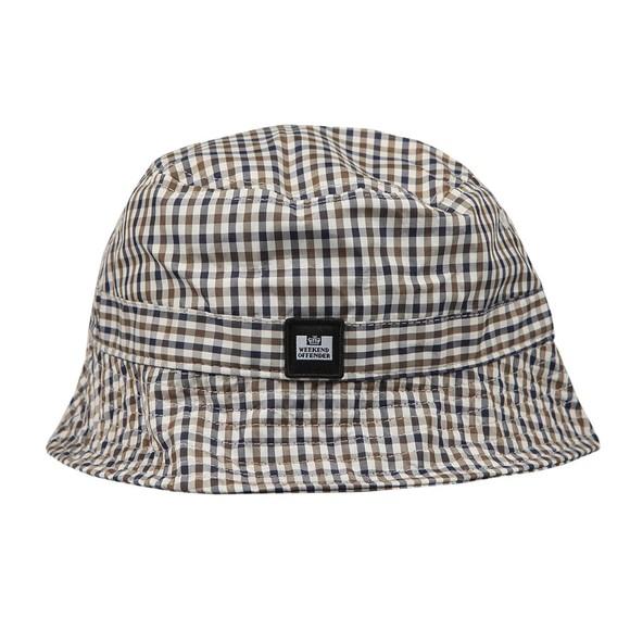 Weekend Offender Mens Multicoloured Queensland Check Bucket Hat