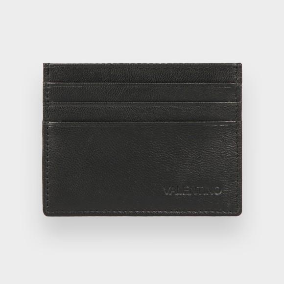 Valentino Bags Mens Black Adrian Card Holder