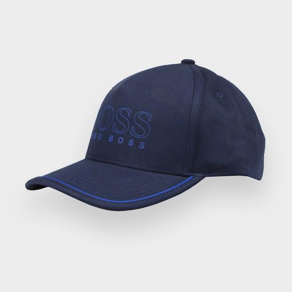 BOSS Mens Blue Athleisure Novel Cap