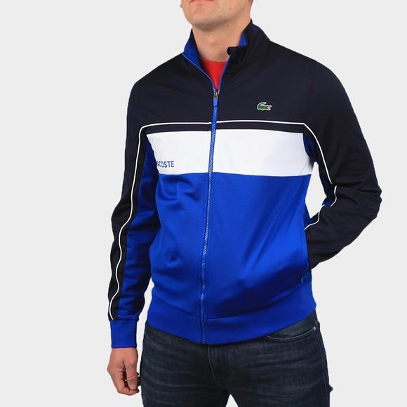 Lacoste Sport Mens Blue SH9543 Full Zip Sweatshirt