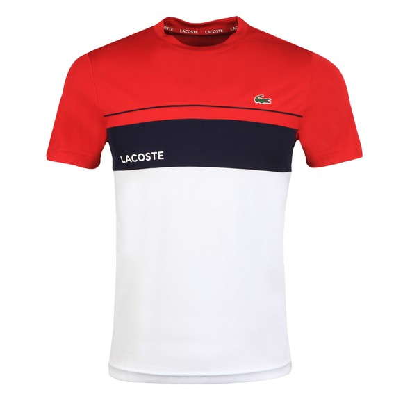 Lacoste Sport Mens Red TH9561 T-Shirt
