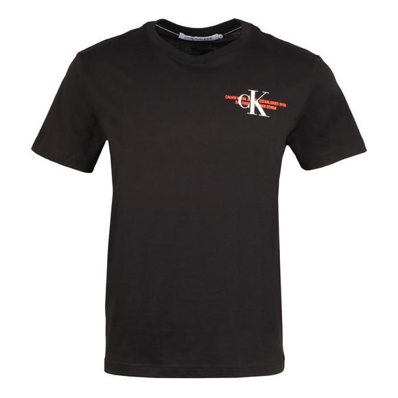 Calvin Klein Jeans Mens Black Urban Graphic T-Shirt