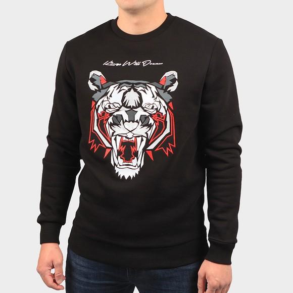 Kings Will Dream Mens Black Demon Fleece Sweatshirt