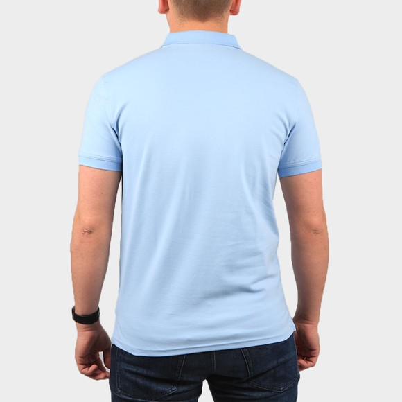 Gant Mens Blue Contrast Collar Rugger Polo Shirt main image