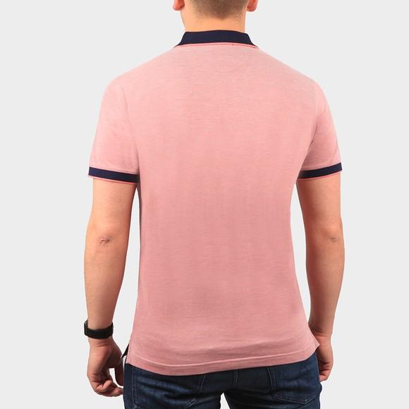 Gant Mens Pink S/S Oxford Rugger Polo Shirt main image