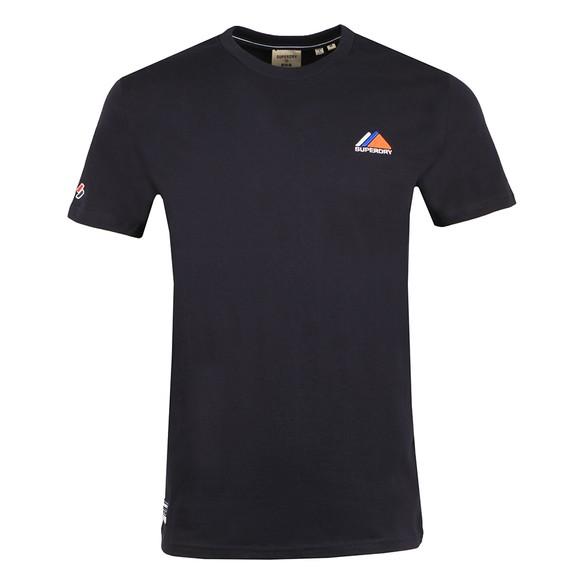 Superdry Mens Blue Mountain Sport T-Shirt