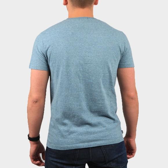 Superdry Mens Blue OL Vintage Embroidery T-Shirt main image