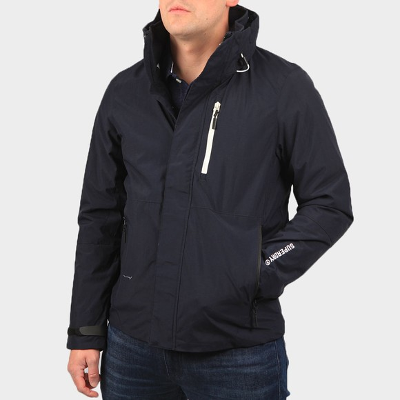 Superdry Mens Blue Hurricane Jacket