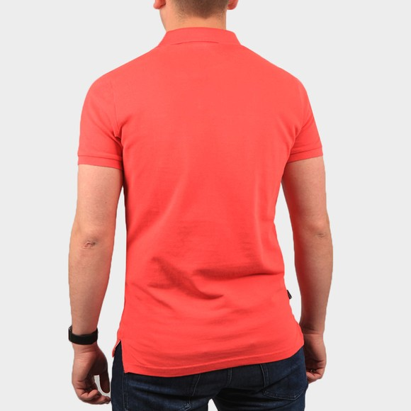 Superdry Mens Red Classic Pique Polo Shirt main image