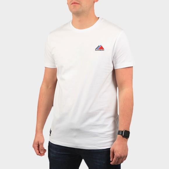 Superdry Mens White Mountain Sport T-Shirt