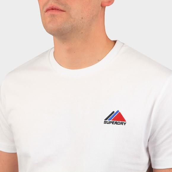 Superdry Mens White Mountain Sport T-Shirt main image