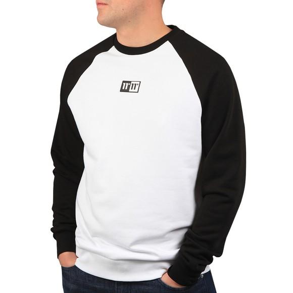 Eleven Degrees Mens White Onyx Sweatshirt