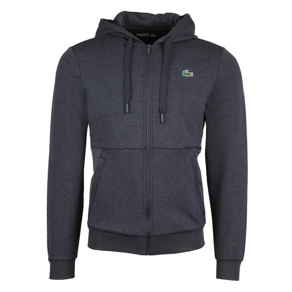 Lacoste Sport Mens Grey SH9676 Full Zip Hoody