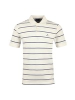 Breton Stripe Rugger Polo Shirt