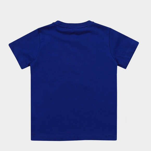 Emporio Armani Boys Blue Large Eagle Logo T Shirt