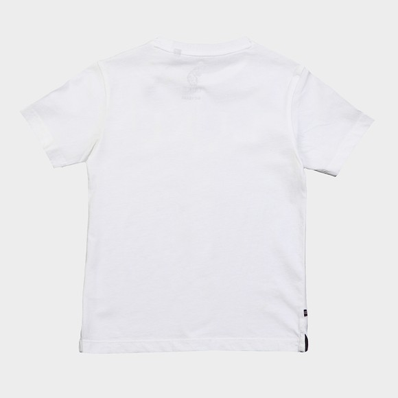 Luke 1977 Boys White Identitee Jnr Chrome Print T Shirt