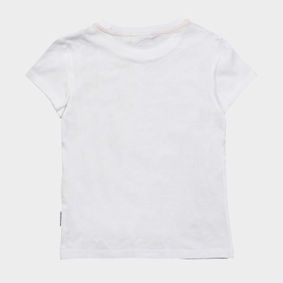 Napapijri Boys White Sadyr T Shirt