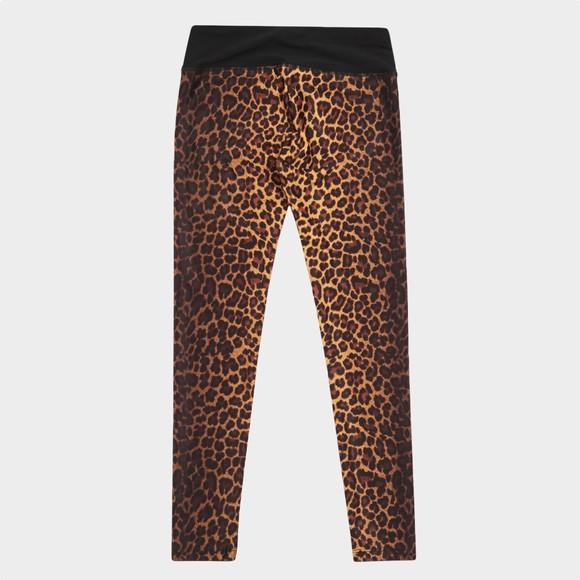 Guess Girls Black Leopard Print Legging