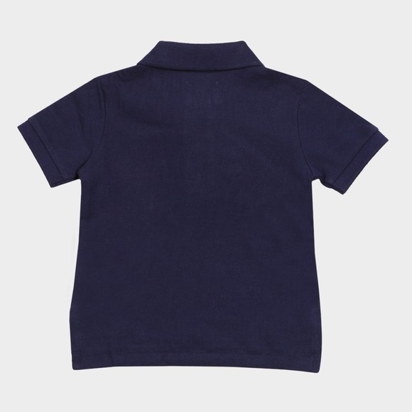 Polo Bear By Ralph Lauren Boys Blue Baby Bear Polo Shirt