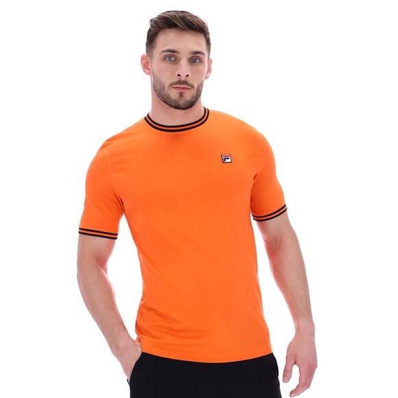 Fila Mens Orange Flank Ringer T-Shirt main image
