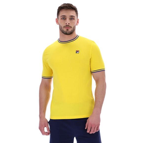 Fila Mens Yellow Flank Ringer T-Shirt main image