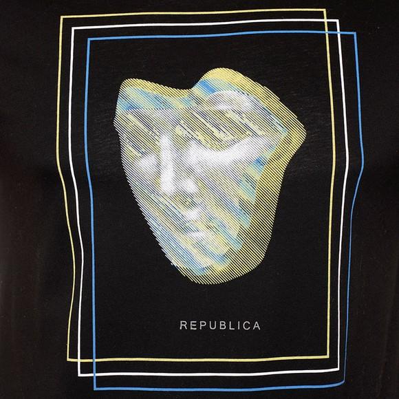 Republica Mens Black Zamora T-Shirt