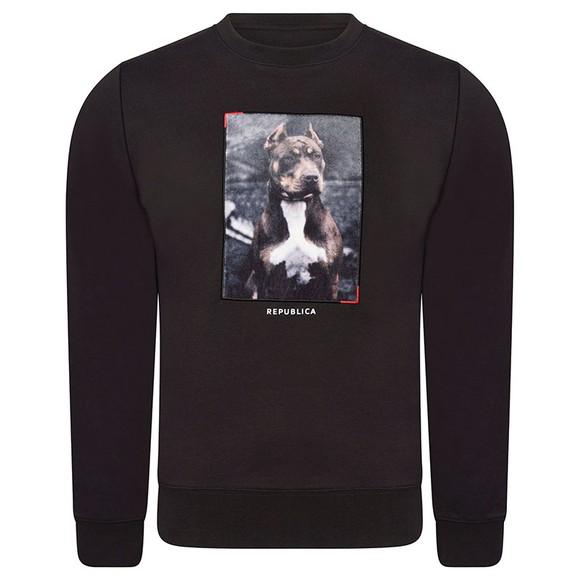 Republica Mens Black Alcala Sweatshirt