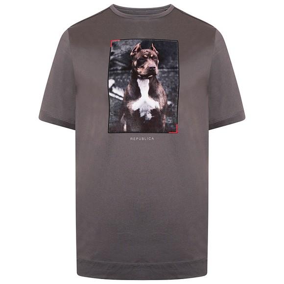 Republica Mens Grey Alcala T-Shirt