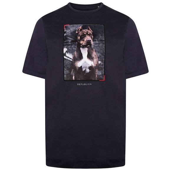 Republica Mens Blue Alcala T-Shirt