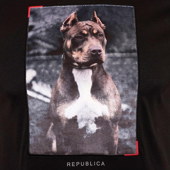 Republica Mens Black Alcala T-Shirt
