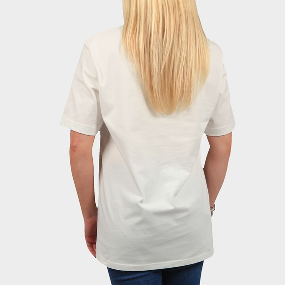 Fred Perry Womens Off-White Printed Graphic T-Shirt main image