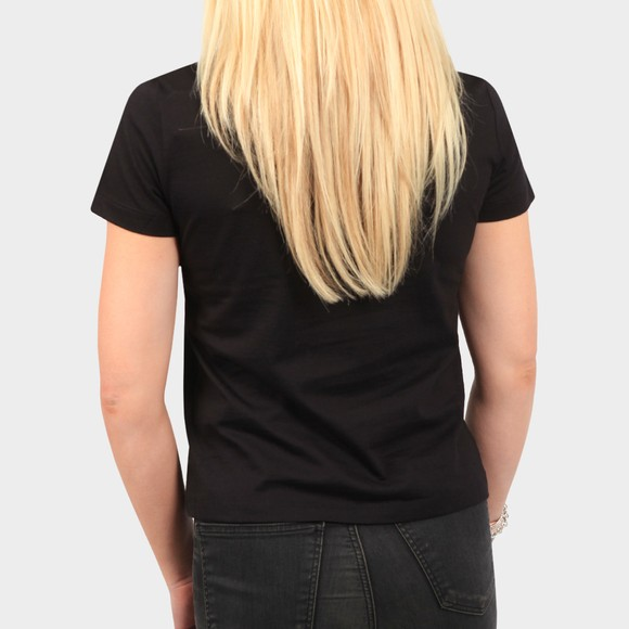 Calvin Klein Jeans Womens Black Shine Logo T Shirt main image