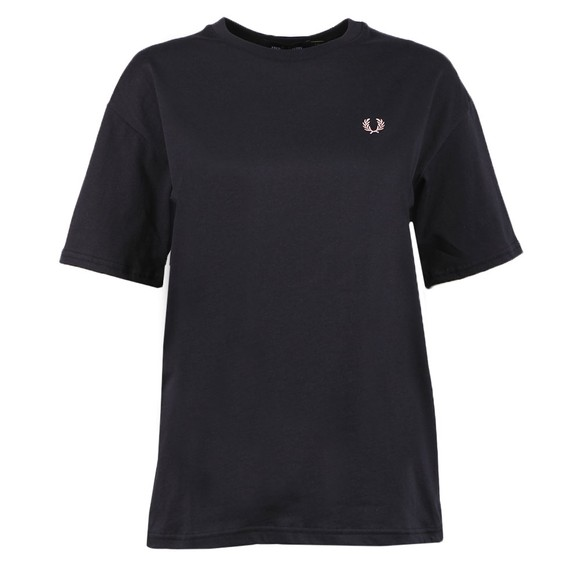 Fred Perry Womens Blue Crew Neck T Shirt