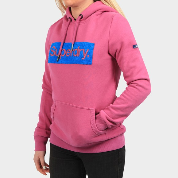 Superdry Womens Purple Workwear Hoody