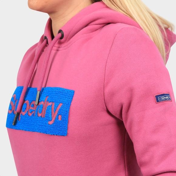 Superdry Womens Purple Workwear Hoody main image